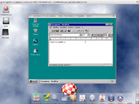Win95 on Sam460ex xourtesy of DOSBox
