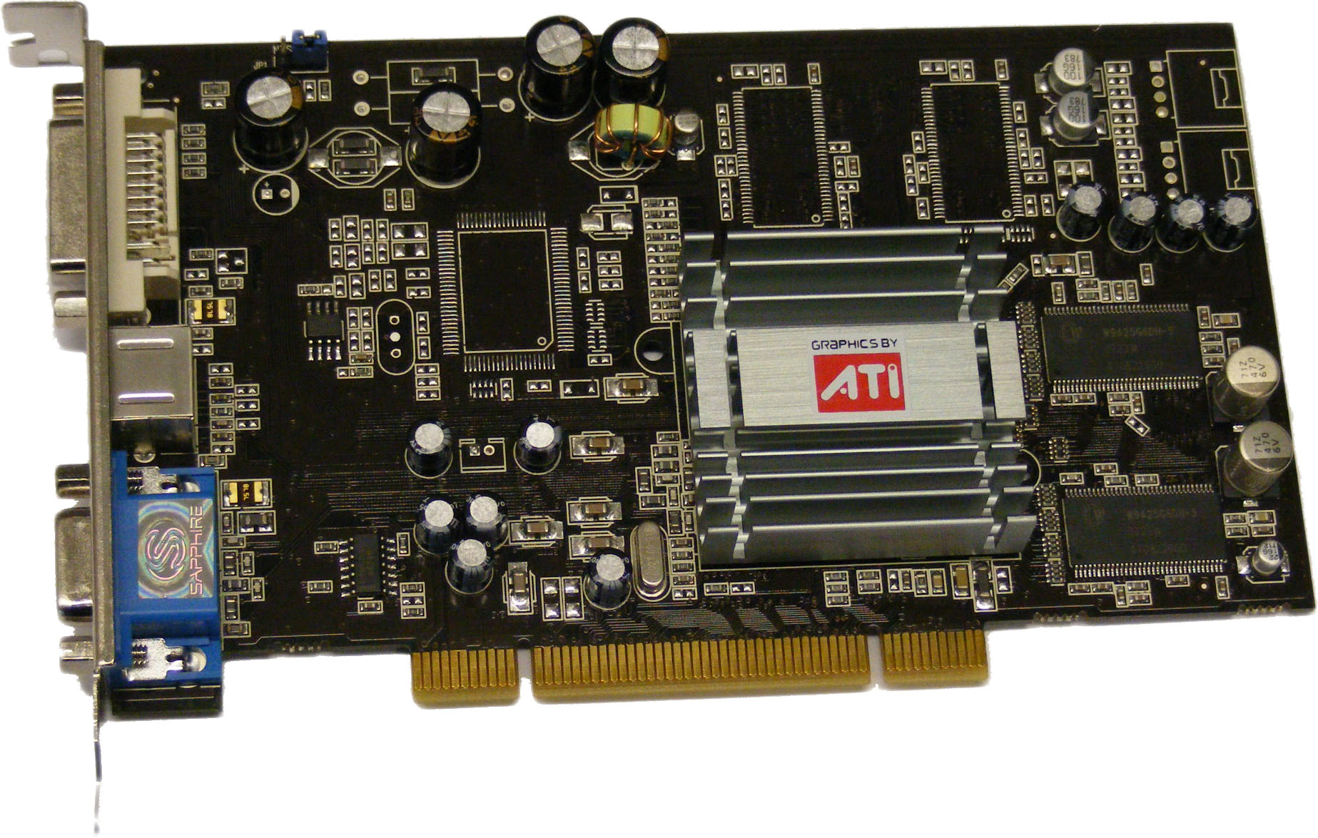 ATI Radeon 9250 graphic card